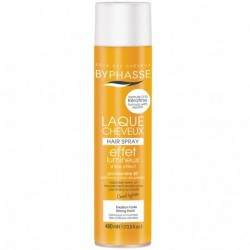 Byphasse - Laque cheveux Effet Lumineux Fixation Forte - 400ml