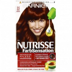 Garnier - Coloration Permanente nutrisse - 3.5 Rouge cerise fonçé