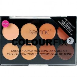 technic - Colour Fix Palette contour kit crème fond de teint n°2 - 8x3,5g