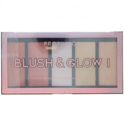 Profusion - Palette Illuminateurs et Blush 5 Couleurs