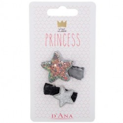 D'Ana - Little Princess lot de 2 barrettes étoiles