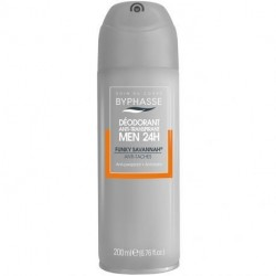 Byphasse - Déodorant spray homme Funky Savannah Anti-tâches - 200ml