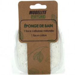 Modelite Nature - Eponge de Bain 2 faces