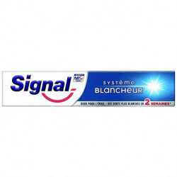 Signal - Dentifrice Système Blancheur 2 semaines - 75ml