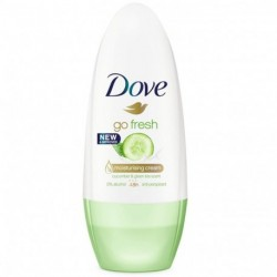 Dove - Go Fresh Déodorant roll-on 48h thé vert & concombre - 50ml