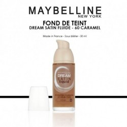 Maybelline - Dream satin Fluide Fond de teint - 60 Caramel - 30 ml