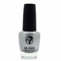 W7 - Vernis a ongles paillettes N°92 Silver Mirror - 15ml