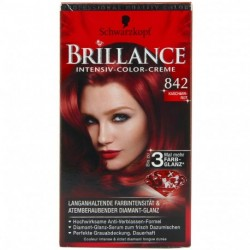 Schwarzkopf - Coloration Brillance 842 Rouge Cachemire